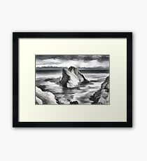 The Bow Fiddle Rock Framed Print