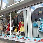 Summer Fashions Window by Kathleen Brant