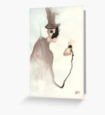 The Hatman Greeting Card