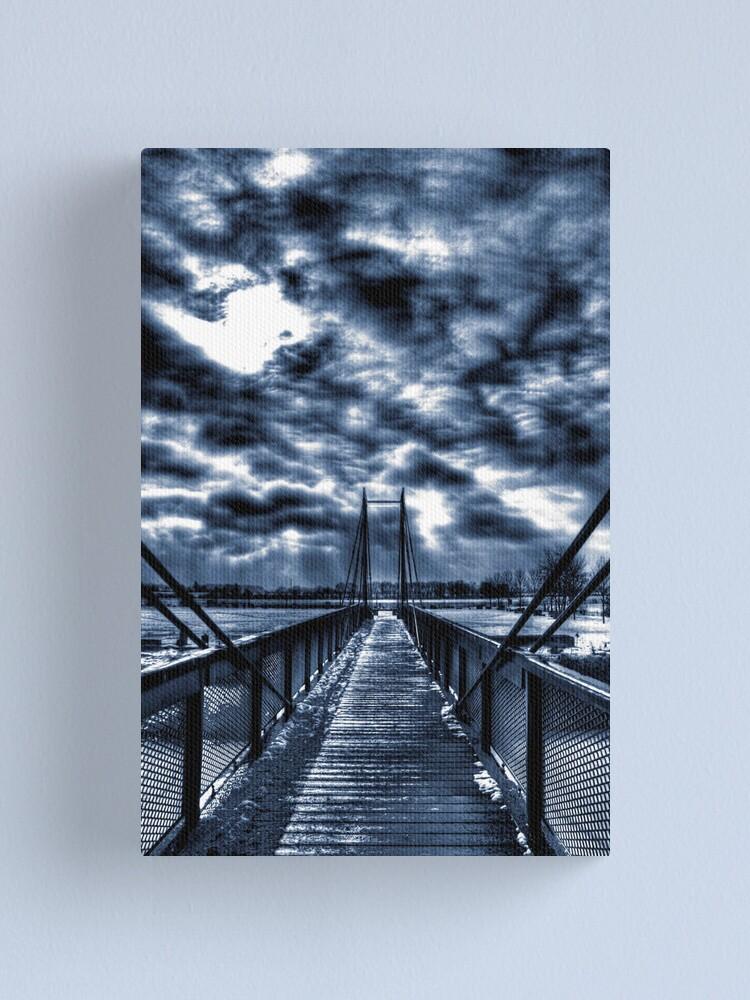 Alternate view of Mystery Bridge Canvas Print