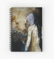 Lizard in a Womans Skin Spiral Notebook