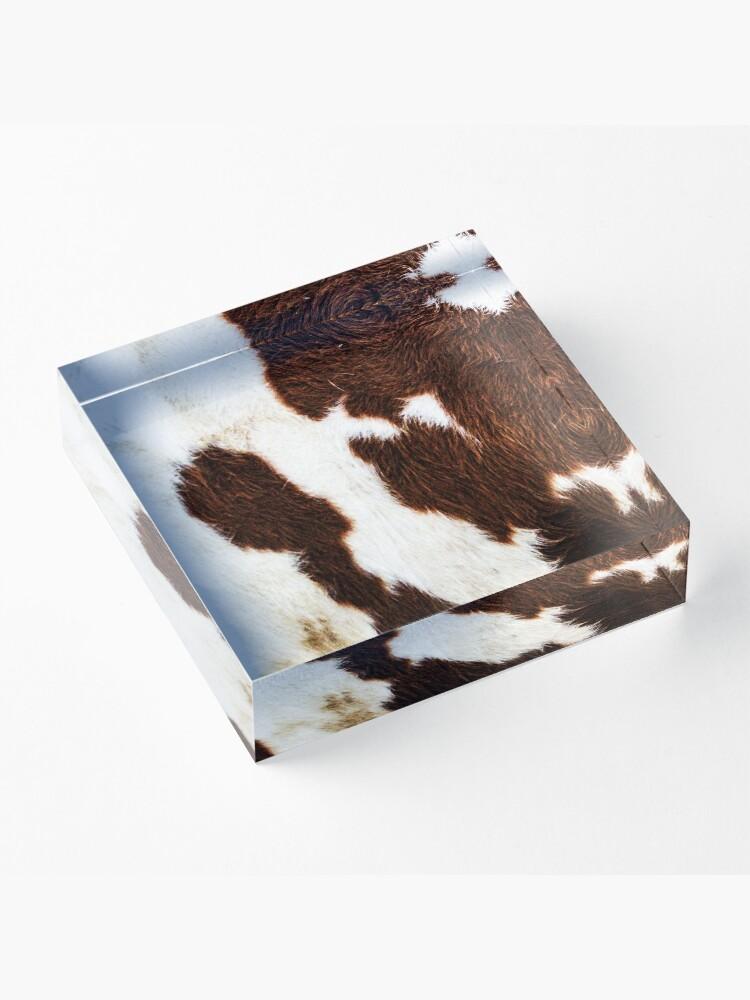 Alternative Ansicht von Rindsleder Acrylblock