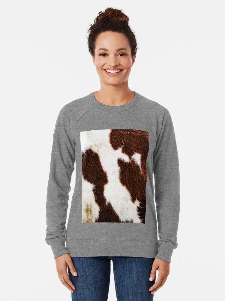 Alternative Ansicht von Rindsleder Leichter Pullover