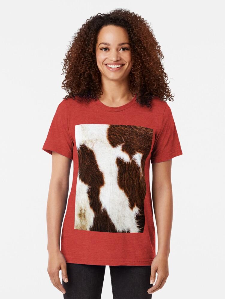 Alternative Ansicht von Rindsleder Vintage T-Shirt