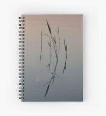 Straws on the Water Spiral Notebook