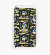 Volleyball Lovers Funny Duvet Cover