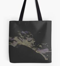 Isometric view of Mallorca map Tote Bag
