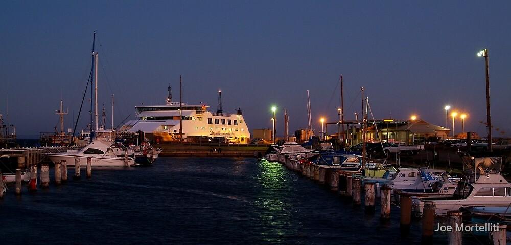 Twilight,Queenscliff Harbour  by Joe Mortelliti