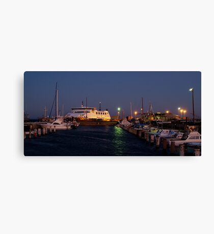 Twilight,Queenscliff Harbour  Canvas Print