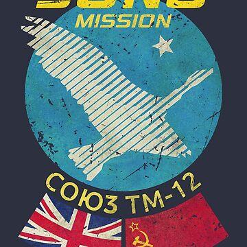 JUNO Space Mission Soyuz TM-12 by Lidra