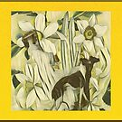 Hounds of the Daffodils by Lisa Marie Mercer