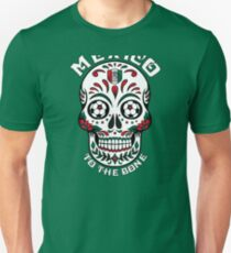 Mexico to the Bone Soccer Unisex T-Shirt
