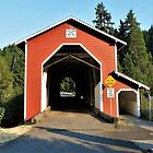 Office Covered Bridge I – Lane County, OR by Rebel Kreklow