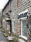 Flint Cottage Upper Beeding by Dorothy Berry-Lound