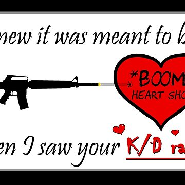 Valentine for the FPS Gamer Geek Valentine's Day Card by AMagicalJourney