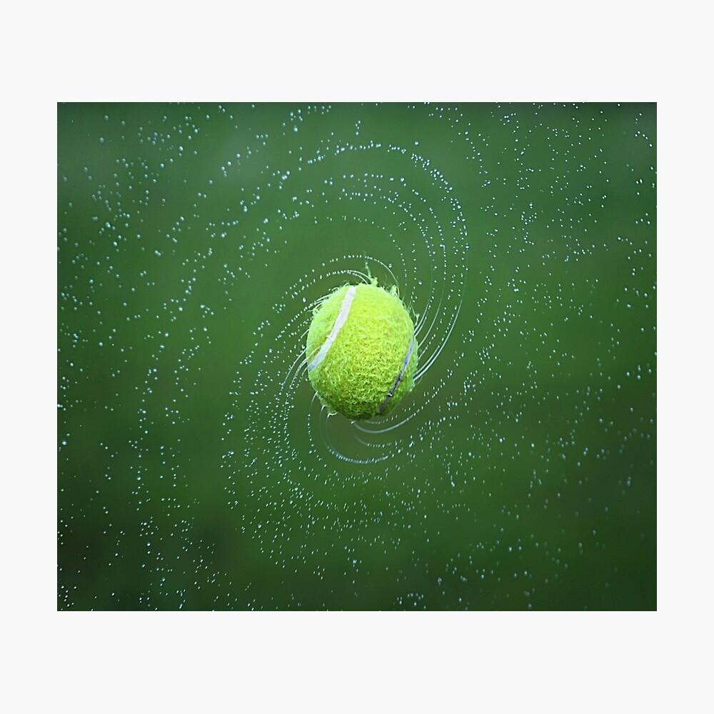 Tennisball Fotodruck