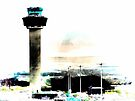 Air Traffic Control Tower Stansted Airport by Dorothy Berry-Lound