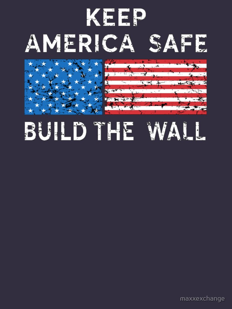 Donald trump, Build the Wall. by maxxexchange
