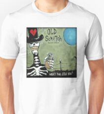 Old Scratch Where's Your Jesus Now T-Shirt