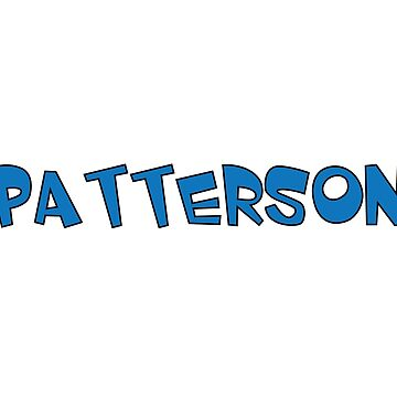 Patterson by Obercostyle