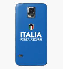 Funda/vinilo para Samsung Galaxy Italia Forza Azzurri