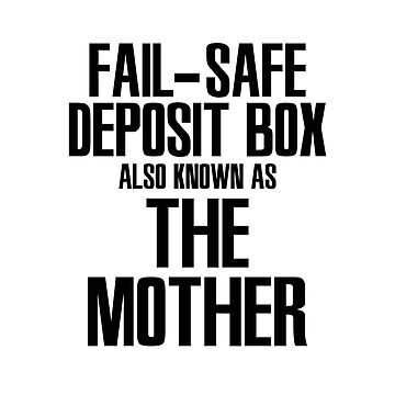 """""""The mother"""" safe by Ankee"""