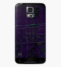 USGS TOPO Map Louisiana LA Doyline 331872 1981 24000 Inverted Case/Skin for Samsung Galaxy
