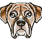 «cara de perrito» de stickersnstuff