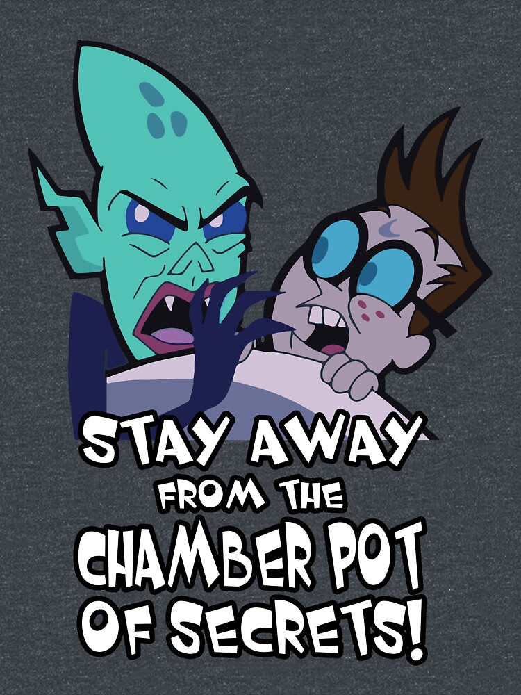 Stay away from the Chamber Pot of Secrets by cadcamcaefea
