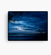 Boat on the Bay Canvas Print