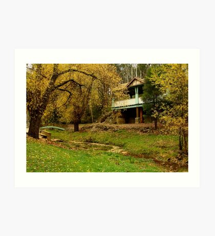 Autumn, Central Springs, Daylesford Art Print