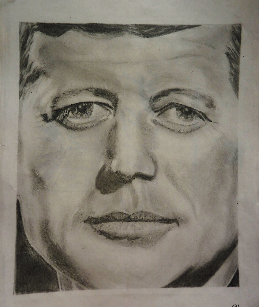 """JFK """"Upside-Down"""" by Meg Hart"""