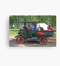 Sandley Steamer Canvas Print