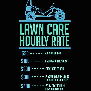 Garden, lawn care hourly rate, gift by Britta75