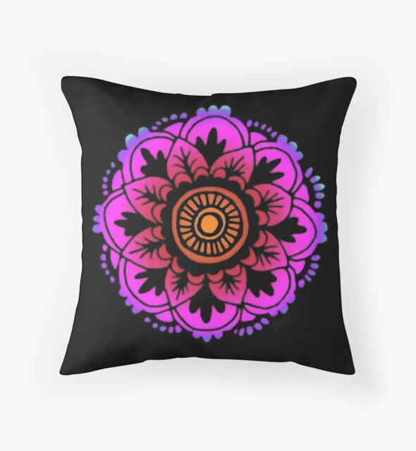 Sunset Mandala Design by julieerindesign