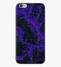 USGS TOPO Map Louisiana LA Dry Creek 331874 1950 24000 Inverted iPhone Case
