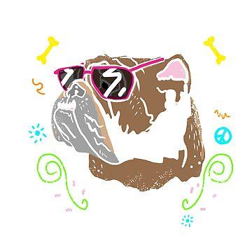 very cool bulldog by fer3407xzhtvz8