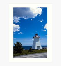 Port Medway Nova Scotia Art Print