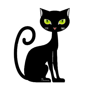Black cat by comtessek