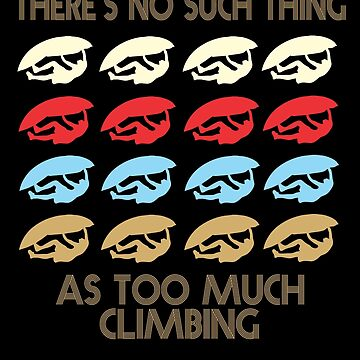 Climbing Retro Vintage 1970's Style by funnyguy