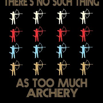 Archery Retro Vintage 1970's Style by funnyguy