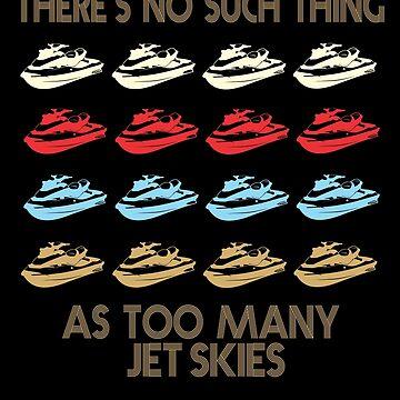 Jet Ski Retro Vintage 1970's Style by funnyguy