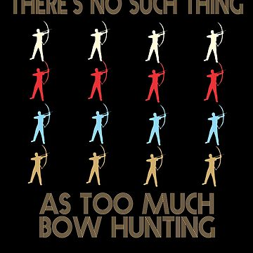 Bow Hunting Retro Vintage 1970's Style by funnyguy
