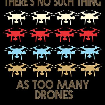 Drone Retro Vintage 1970's Style by funnyguy