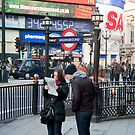 Lost in Piccadily Circus: London. UK. by DonDavisUK