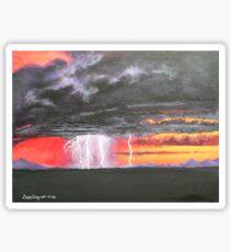 Desert storm Sticker