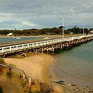 Barwon Heads Bridge,Bellarine Peninsula by Joe Mortelliti