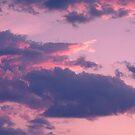 Purple Sky, Dreamy Clouds by cadinera