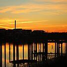 Waterfront Sunset by Cynthia48