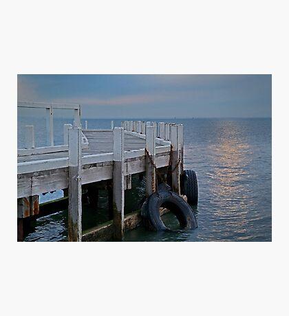 Pt Richards Jetty, Bellarine Peninsula Photographic Print